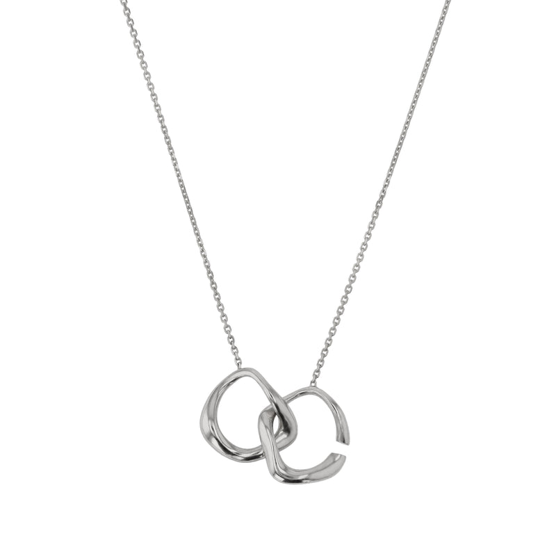 Form Necklace Silver | Sarah & Sebastian