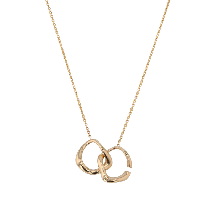 Form Necklace Gold | Sarah & Sebastian