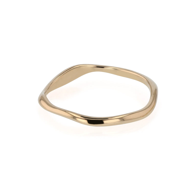 Form Ring Gold | Sarah & Sebastian