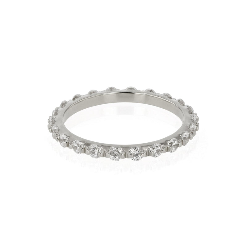 Diamond Infinity Ring White Gold | SARAH & SEBASTIAN
