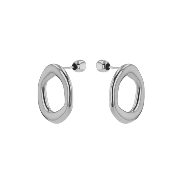 Jelly Stud Earrings Silver | Sarah & Sebastian