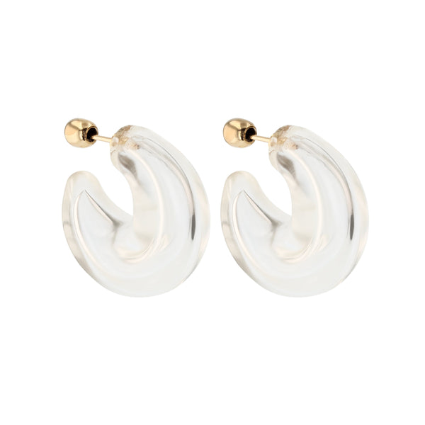 Statement Jelly Hoops Gold | Sarah & Sebastian