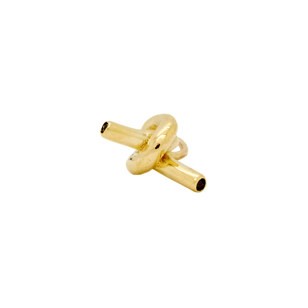 Iconography Knot Charm (Gold)