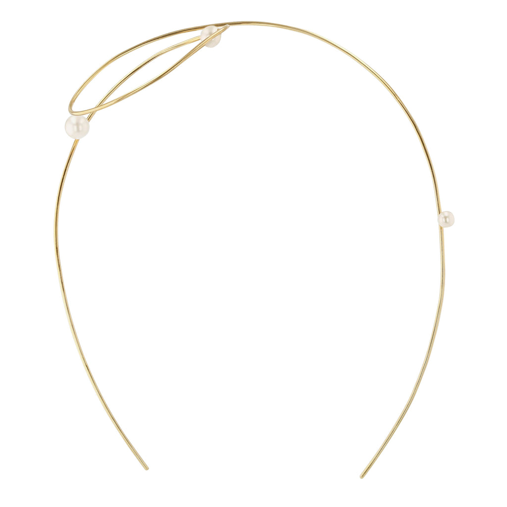 Large Buoy Headband | Vermeil