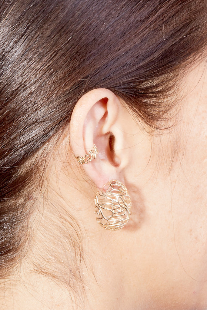 Style: FEATURED: | scribble-ear-cuff-silver