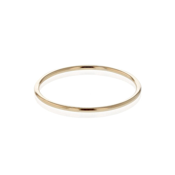 Liberty Fine Band Ring Yellow Gold | SARAH & SEBASTIAN