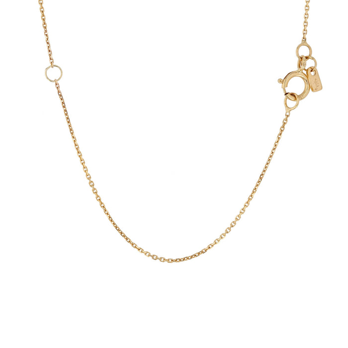 Rope Pendant Necklace Gold | Sarah & Sebastian