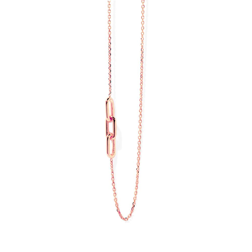 Link Chain Necklace (Rose Gold)