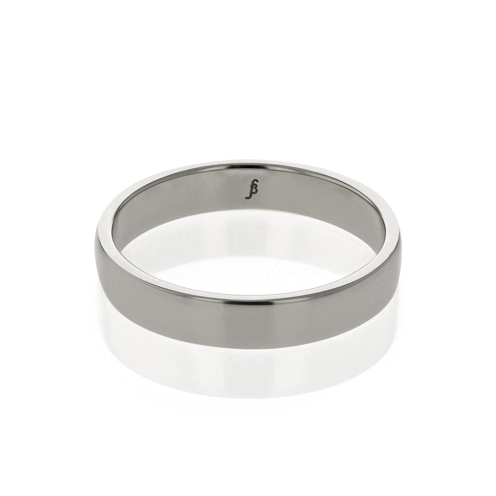 Mens Wedding Band | Rectangular