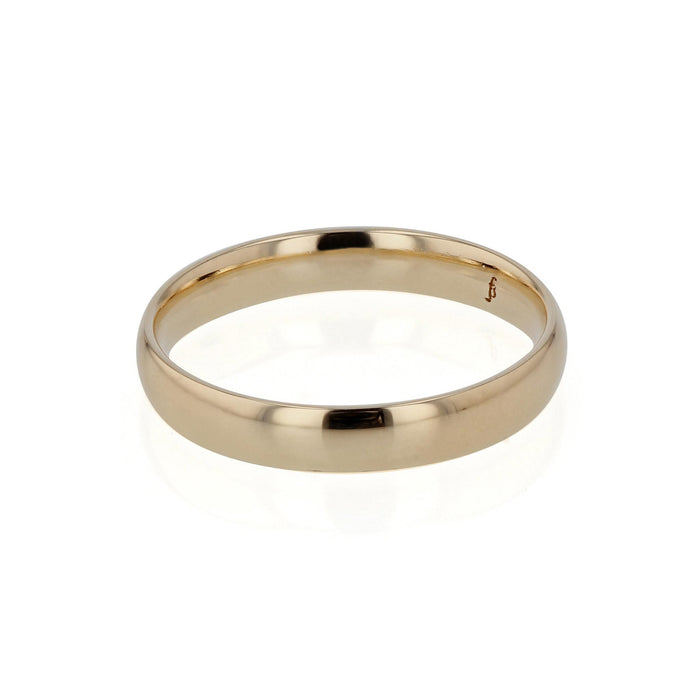Mens Wedding Band | Rounded