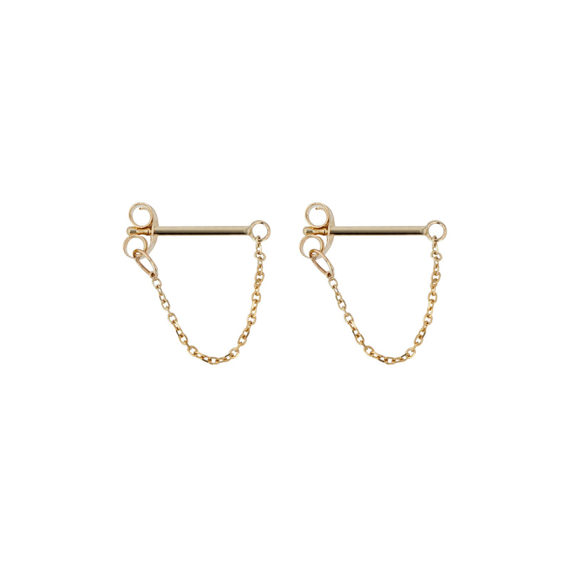 Molly Earrings Yellow Gold | Sarah & Sebastian
