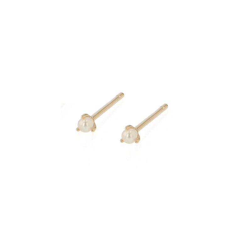 Seed Pearl Earrings Gold | Sarah & Sebastian