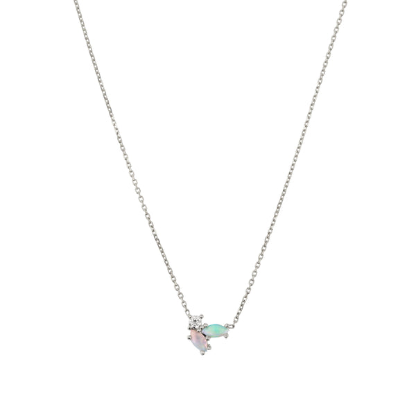 Nymph Diamond Necklace White Gold | Sarah & Sebastian