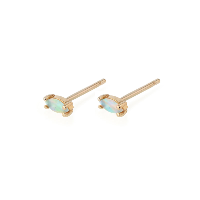 Nymph Opal Earrings Gold | Sarah & Sebastian