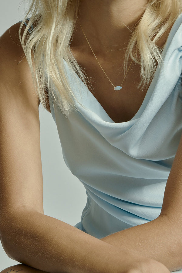 Nymph Opal Necklace Gold | Sarah & Sebastian onBody