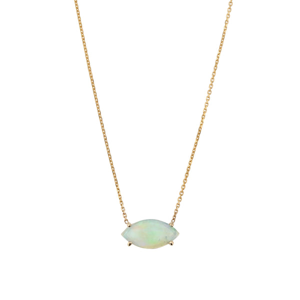 Nymph Opal Necklace Gold | Sarah & Sebastian