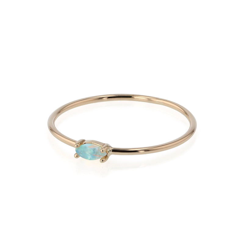 Nymph Opal Ring Gold | Sarah & Sebastian