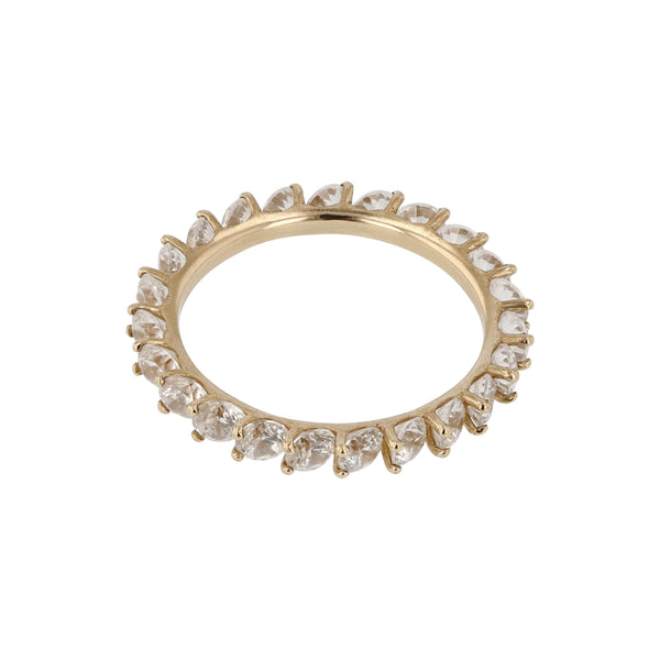 Overlay Brilliant Ring Yellow Gold | SARAH & SEBASTIAN