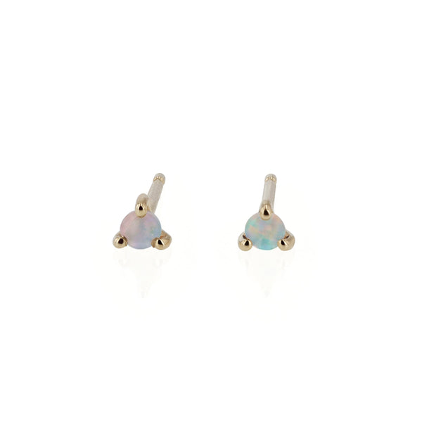 Element Opal Stud Earrings Gold | Sarah & Sebastian