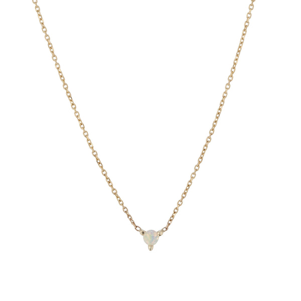 Opal Element Necklace Gold | Sarah & Sebastian