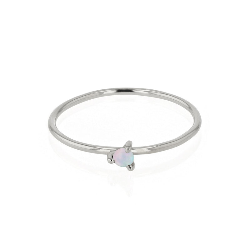 Fine Opal Element Ring Silver | Sarah & Sebastian