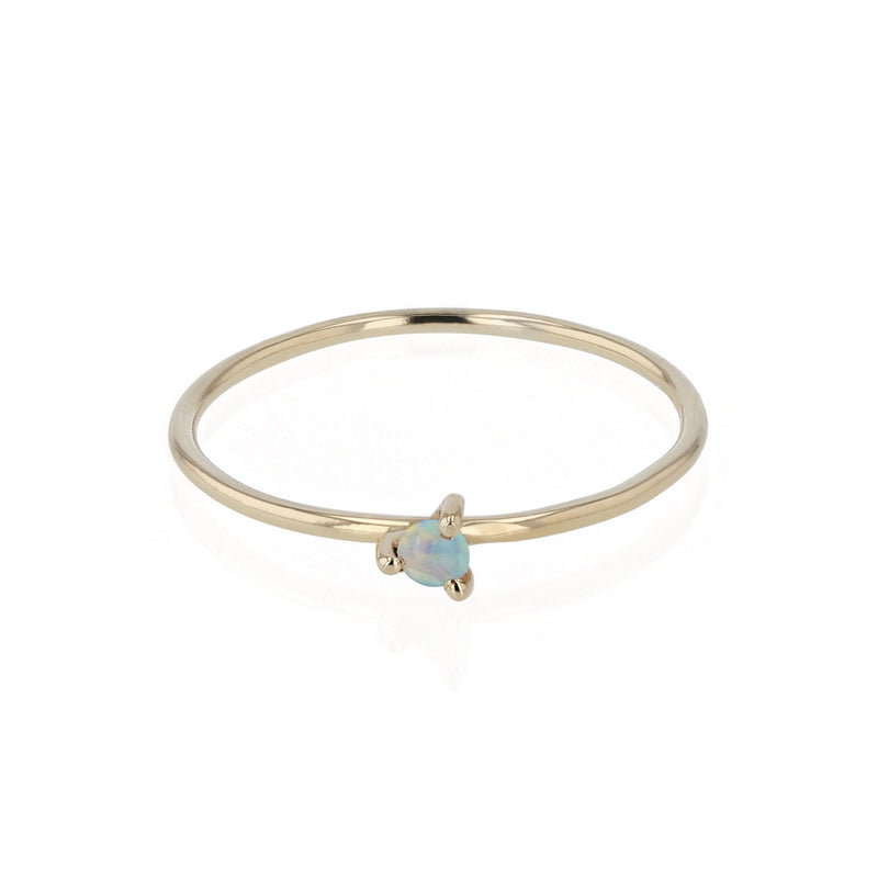 Fine Opal Element Ring Gold | Sarah & Sebastian