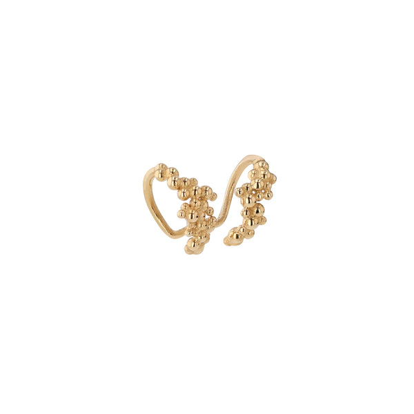 Statement Papilla Ear Cuff Gold | Sarah & Sebastian