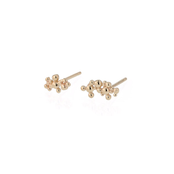 Fine Papilla Earrings Gold | Sarah & Sebastian