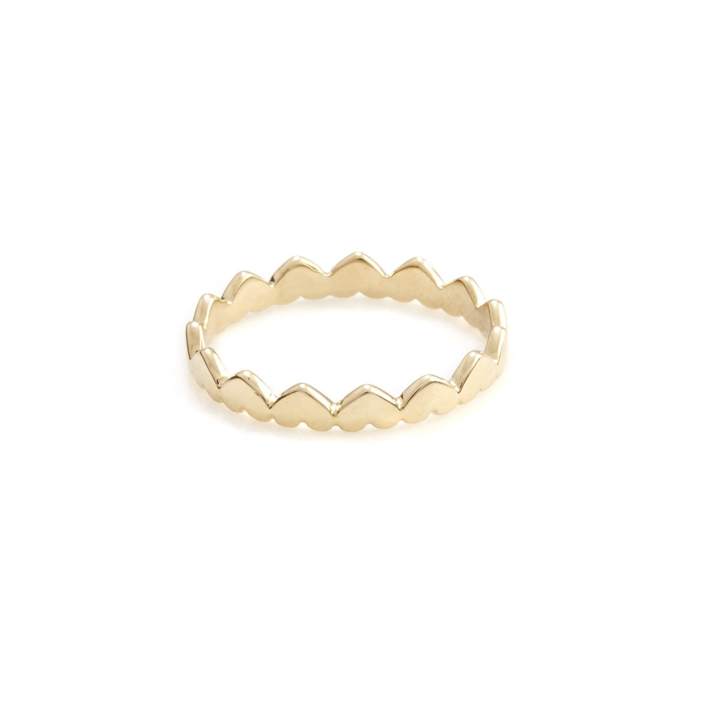 Love You To The Moon and Back Ring (Gold)