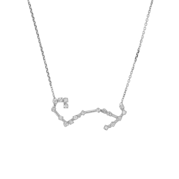 Celestial Scorpio Necklace White Gold | Sarah & Sebastian