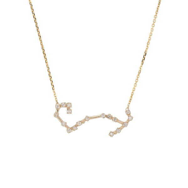 Celestial Scorpio Necklace Yellow Gold | Sarah & Sebastian