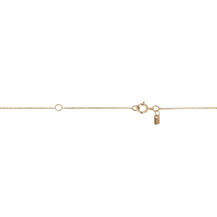 Blush Pendant Necklace Yellow Gold | SARAH & SEBASTIAN