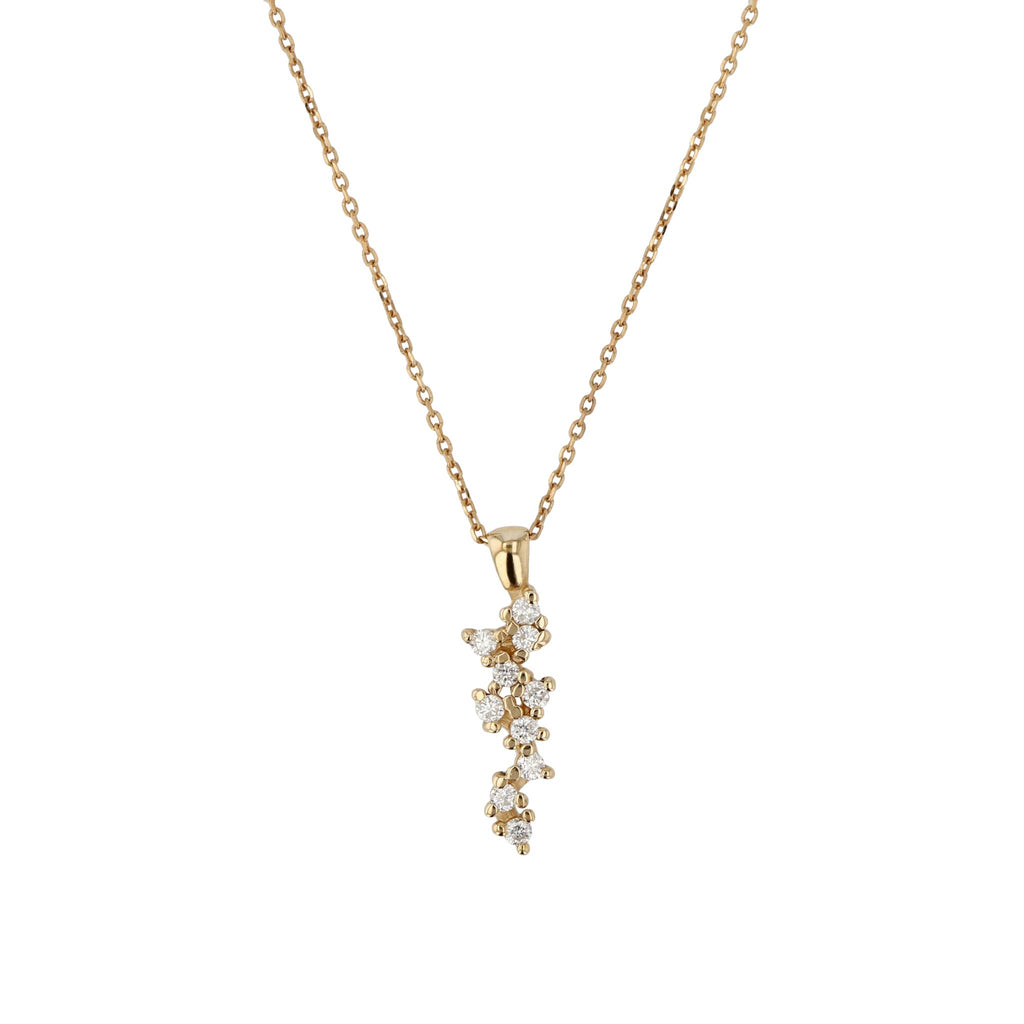 Stellar Diamond Necklace