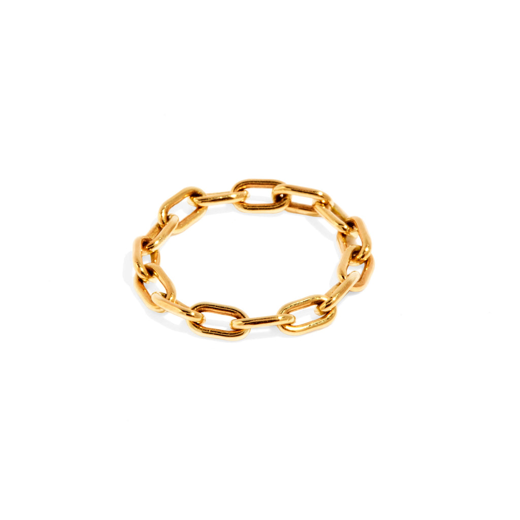 Link Chain Ring (Gold)