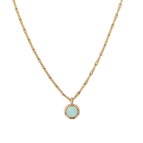 Stinger Opal Necklace Gold | Sarah & Sebastian