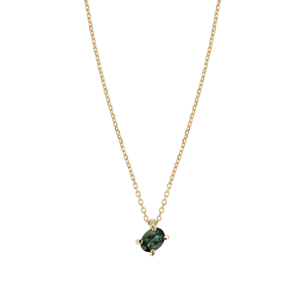 Teal Necklace