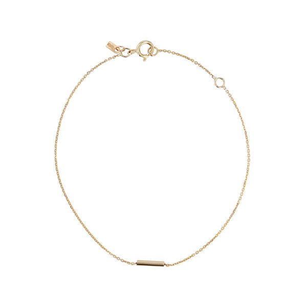 Tube Bracelet Yellow Gold | Sarah & Sebastian