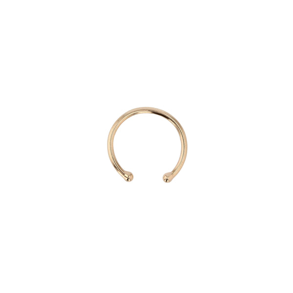 Single Wire Ear Cuff Gold | Sarah & Sebastian