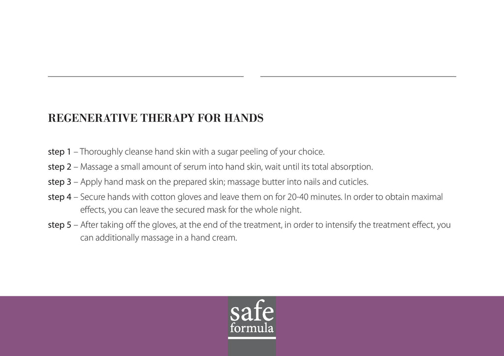 Regenerative Therapy for Hands