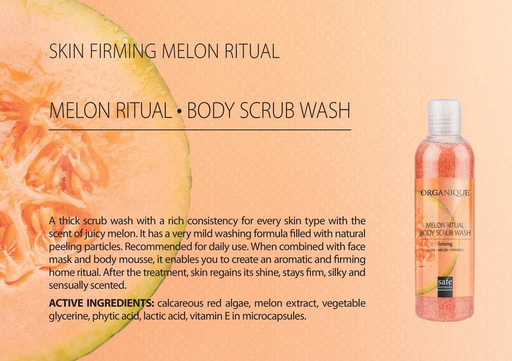 Melon Body Scrub Wash