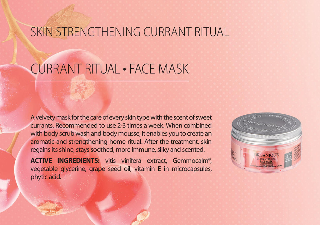 Currant Face Mask