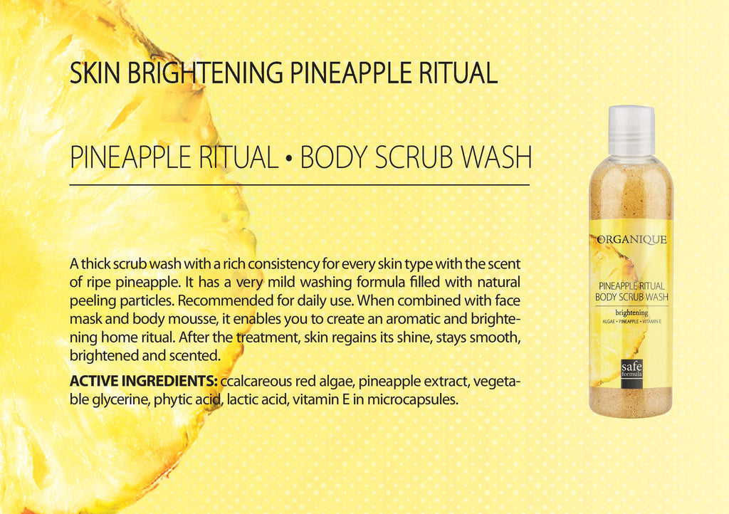 Pineapple Body Scrub Wash
