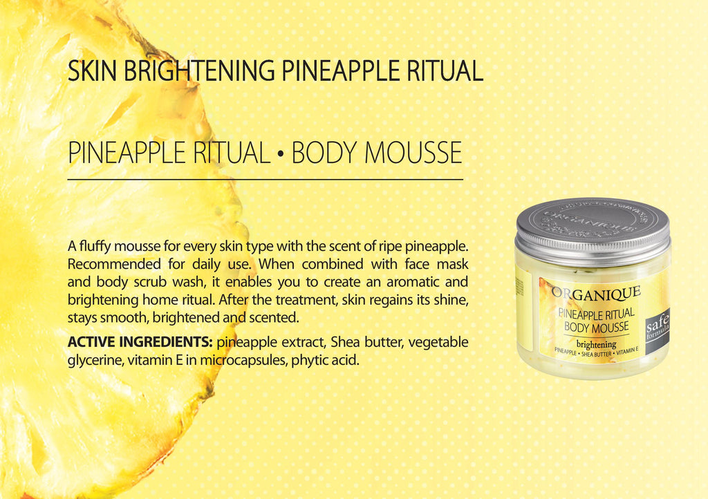 Pineapple Body Mousse
