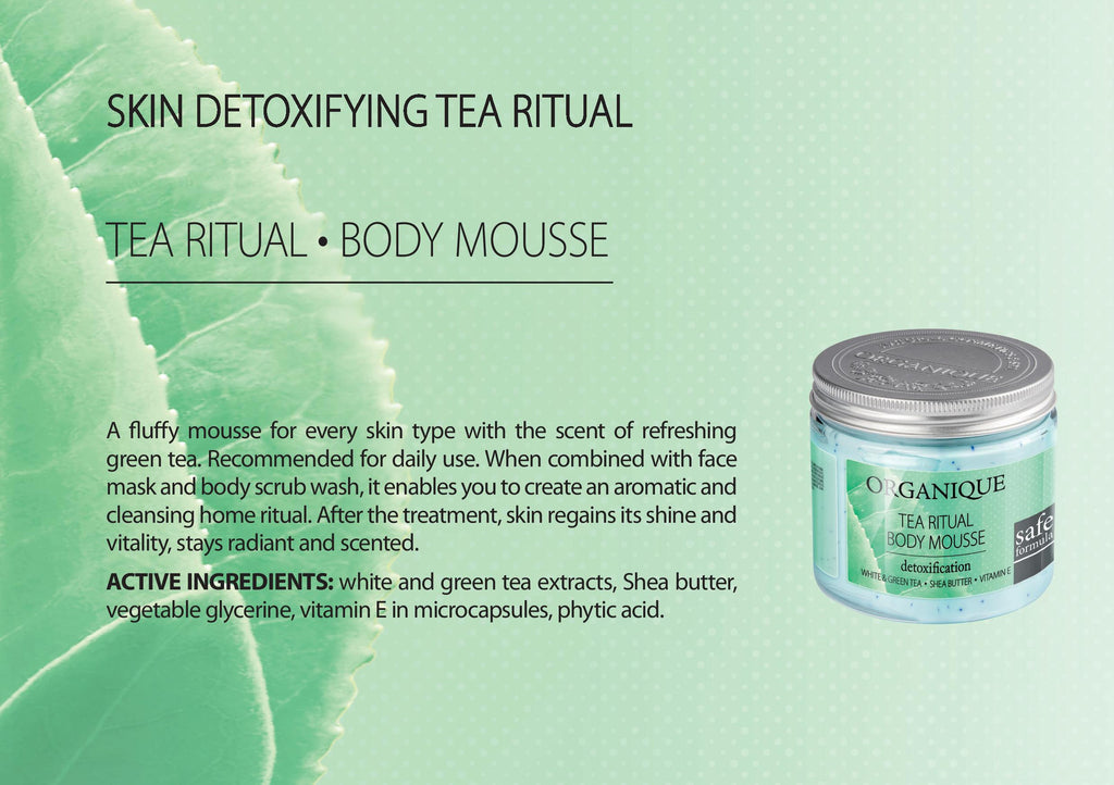 Tea Body Mousse