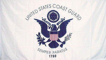 Coast Guard Flag 3x5