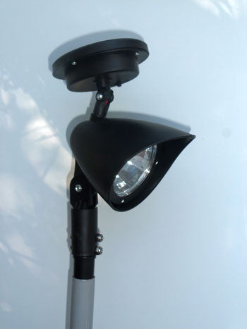 Solar light Topper Made for the 16' & 22' RV Fiberglass Telescoping Flagpole.