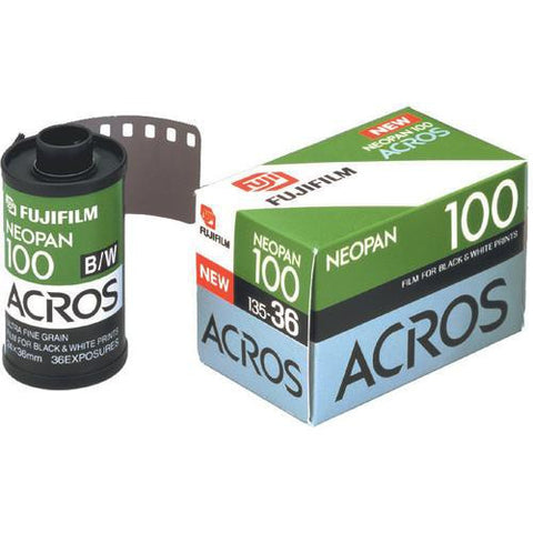 Fujifilm Neopan 100 Acros Black and White Negative Film (36 Exposures) [1 Roll]