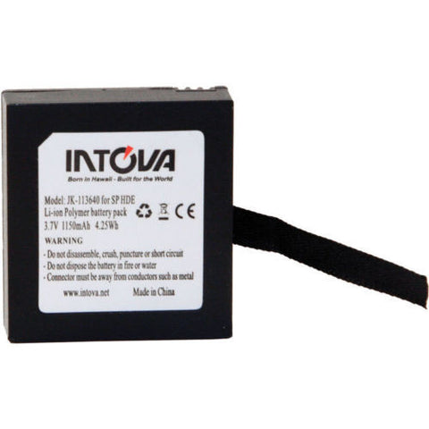 Intova Sport Li-Ion Battery for EDGE and EXTREME camera