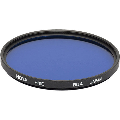 HOYA 80A Color Conversion Hoya Multi-Coated Glass Filter [Multiple Size Options]