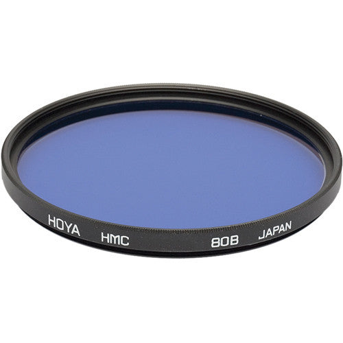 HOYA 80B Color Conversion Hoya Multi-Coated Glass Filter [Multiple Size Options]